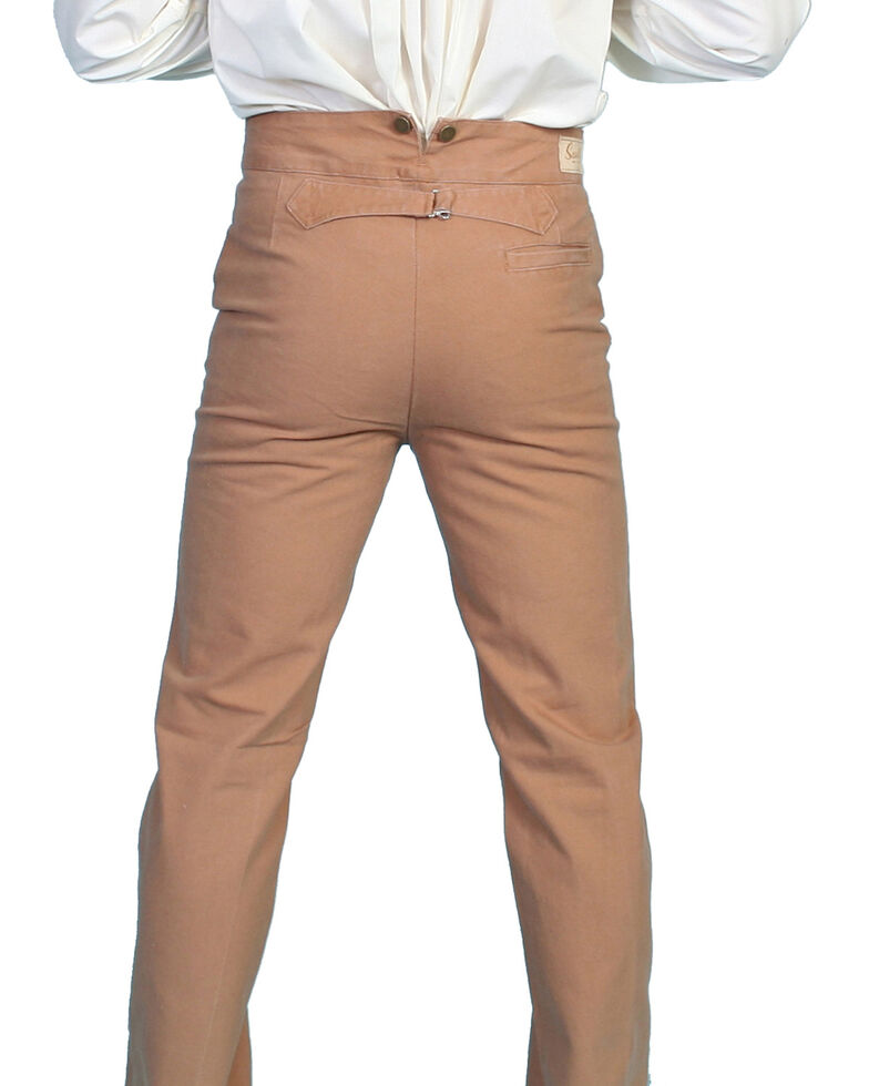 Scully Rangewear Men's Canvas Pants - Big & Tall, Brown, hi-res
