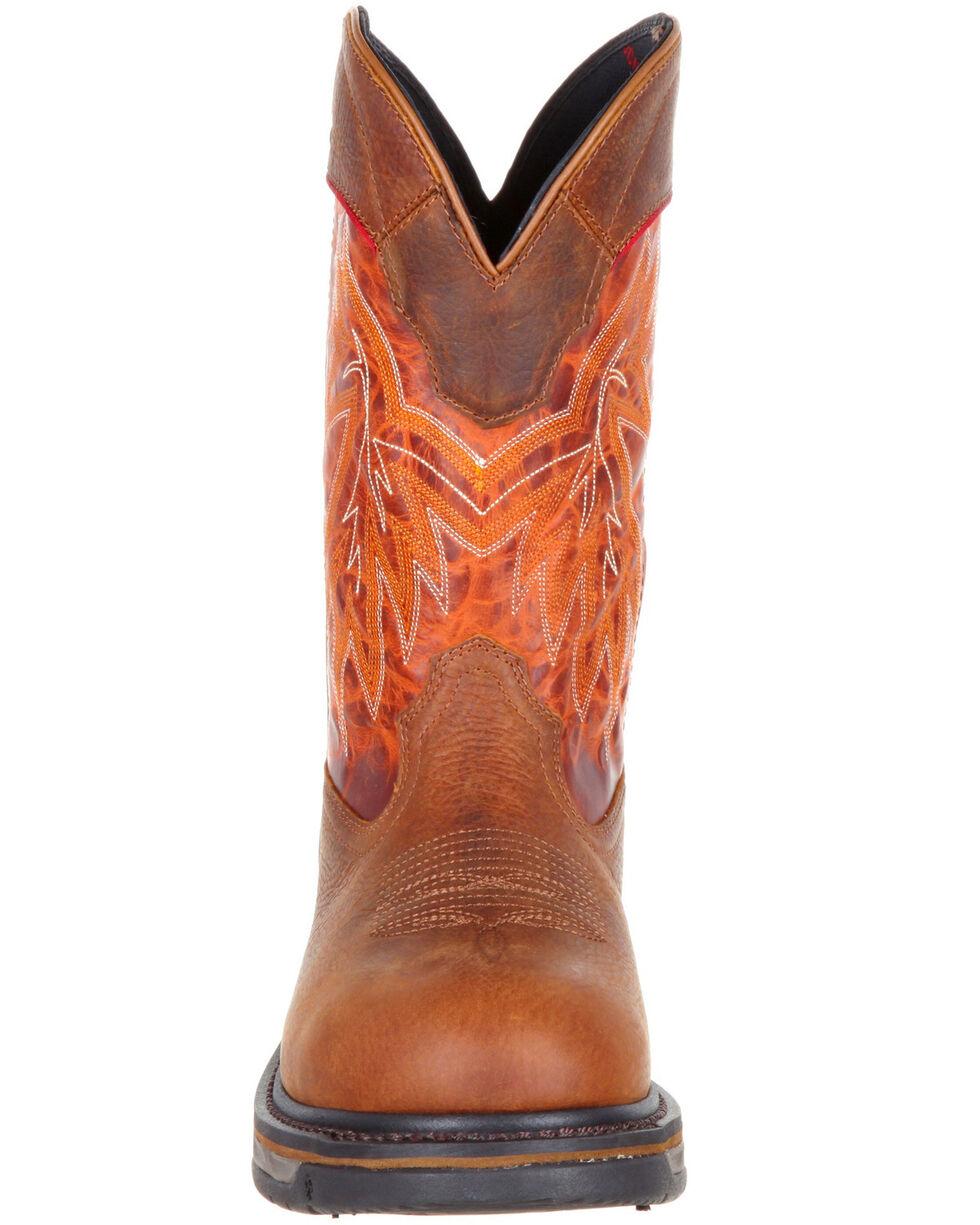 Rocky Men's Iron Skull Western Boots - Round Toe, Multi, hi-res