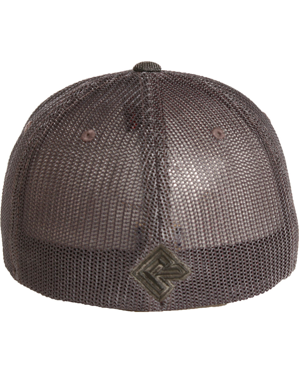 Rock & Roll Denim Men's Grey Trucker Cap , Grey, hi-res