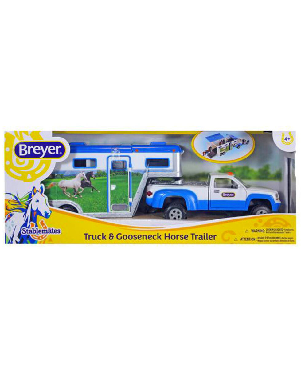 Breyer Stablemates Truck & Gooseneck Trailer, No Color, hi-res