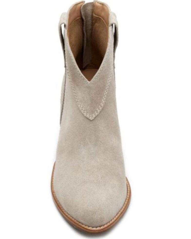 Matisse Women's Arrow Fashion Booties - Round Toe, Light Grey, hi-res