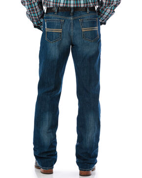 Cinch Men's White Label Performance Denim Jeans - Straight Leg, Indigo, hi-res