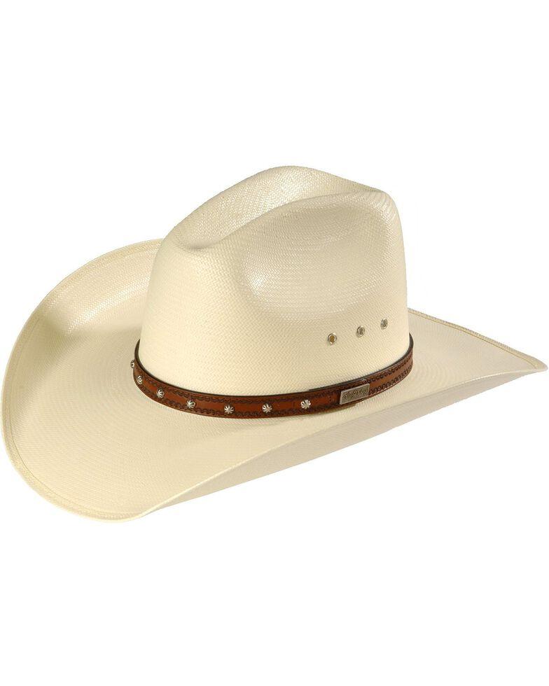Larry Mahan Browning 10X Straw Cowboy Hat  7604e70ac2b