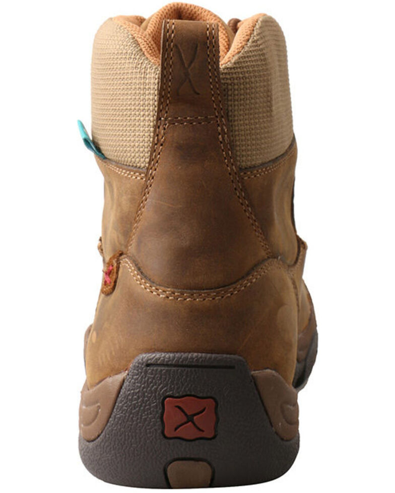 05aa35713d9 Twisted X Men's Distressed Saddle Hiker Boots - Moc Toe