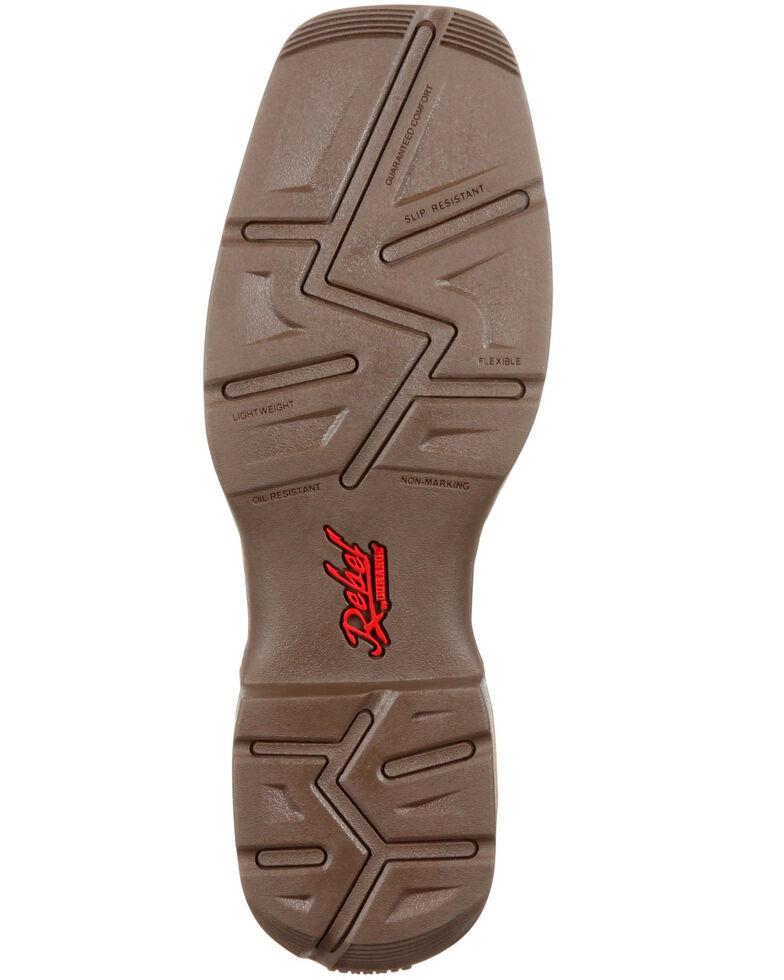 Durango Men's Rebel Waterproof Western Boots - Composite Toe, Brown, hi-res