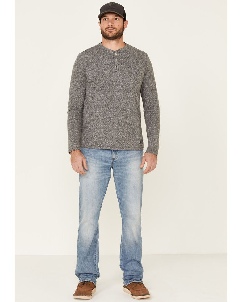 Wrangler Retro Premium Men's Sahara Stretch Slim Bootcut Jeans , Blue, hi-res