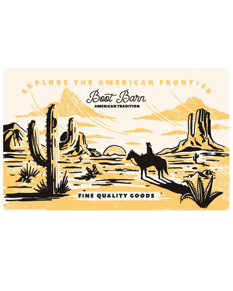 Boot Barn® American Frontier Gift Card, No Color, hi-res