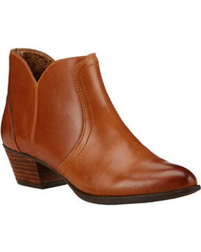 Ariat Women's Astor Ankle Boots, Tan, hi-res