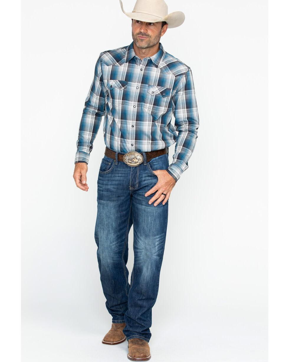 Cody James Men's Maderas Long Sleeve Shirt - Big & Tall , Blue, hi-res