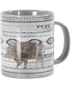HiEnd Accents Free Spirit Mug Set, Grey, hi-res