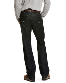 Ariat Men's Rebar M4 Durastretch Low Rise Boot Work Jeans , Indigo, hi-res