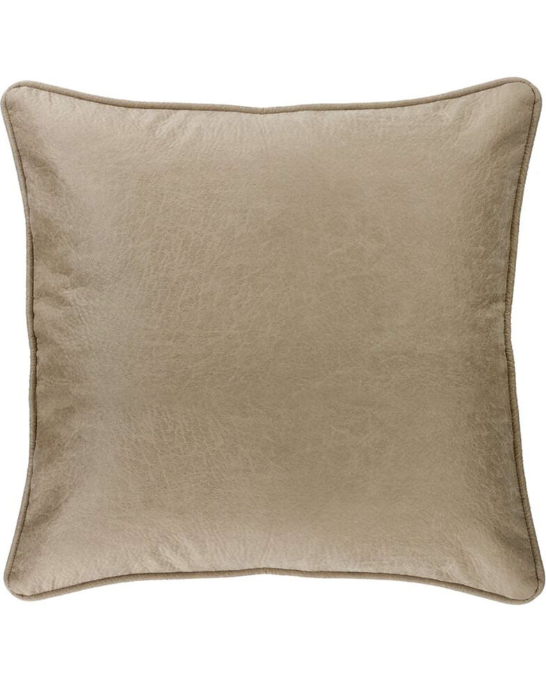 HiEnd Accents Silverado Faux Leather Euro Sham, Multi, hi-res