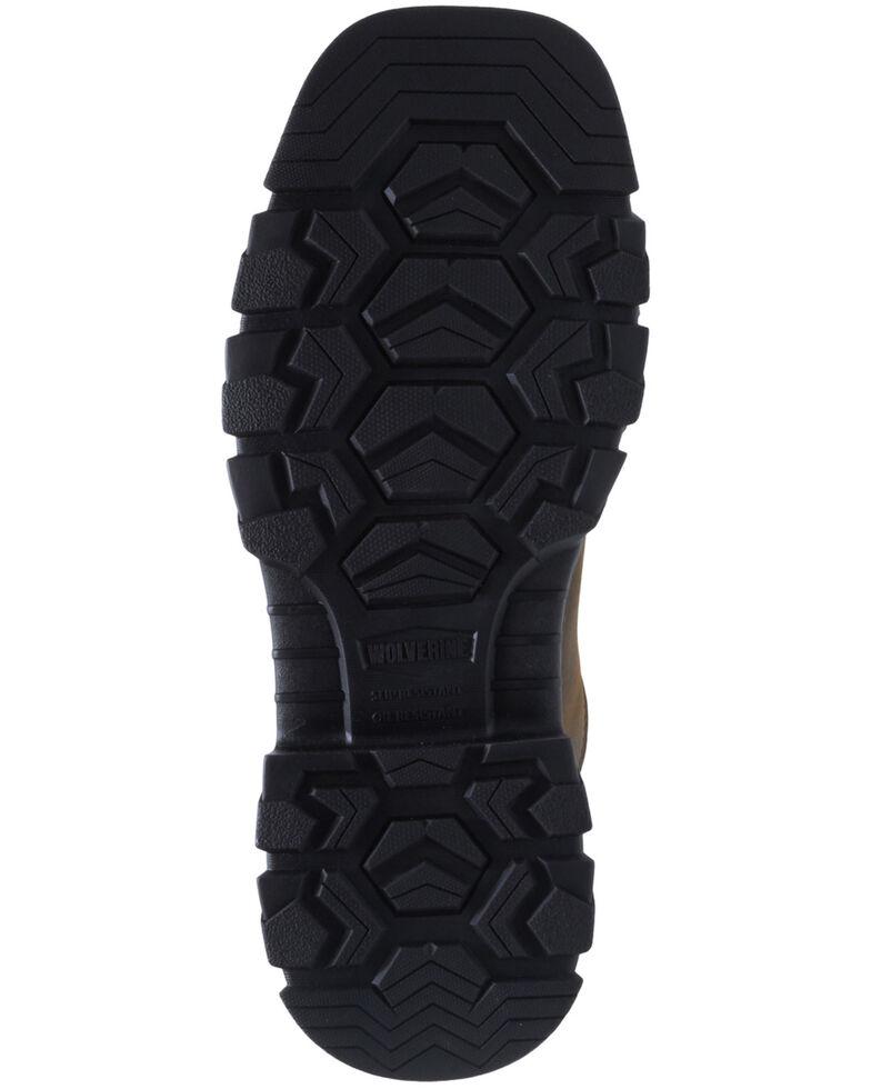 Wolverine Men's Grey Ranch King Carbonmax Western Work Boots - Composite Toe, Grey, hi-res