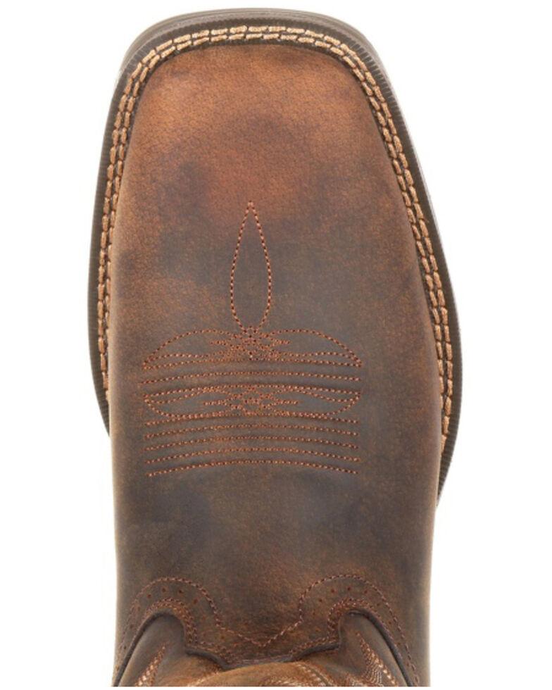Durango Men's Ultralite Distressed brown Western Boots - Square Toe, Distressed Brown, hi-res