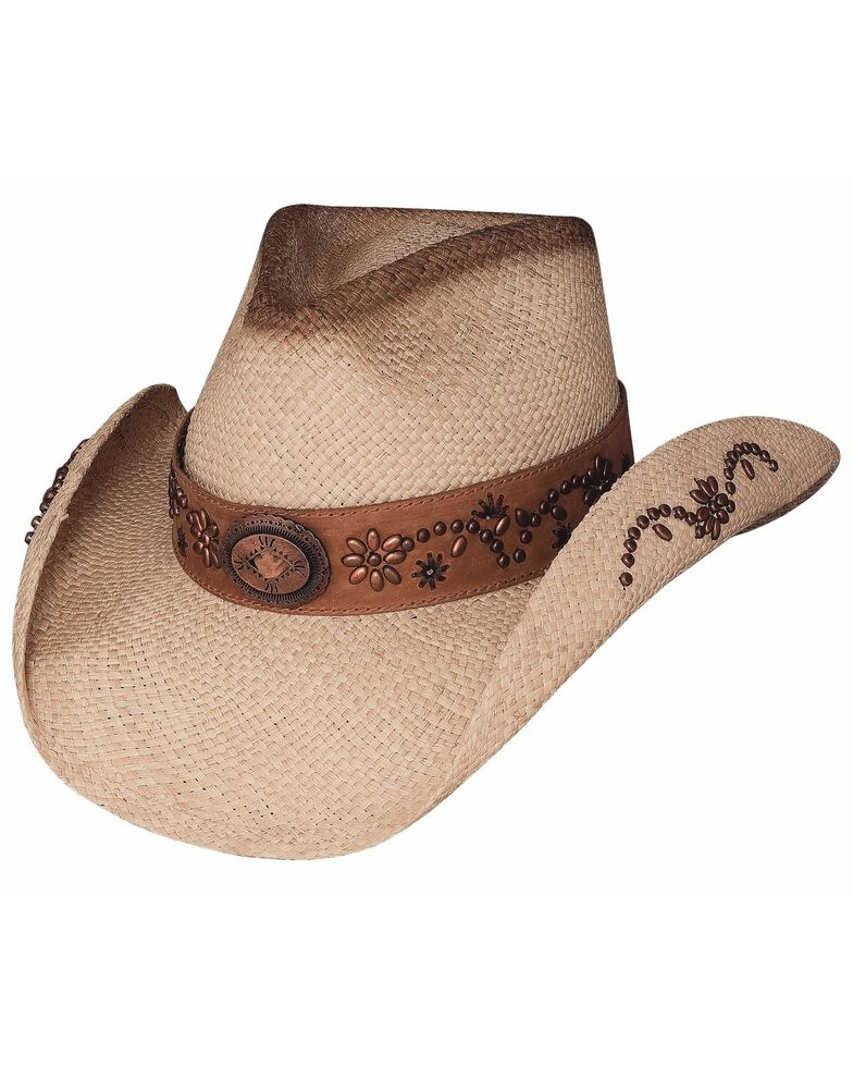 Bullhide Women's More Than A Memory Straw Hat, Natural, hi-res