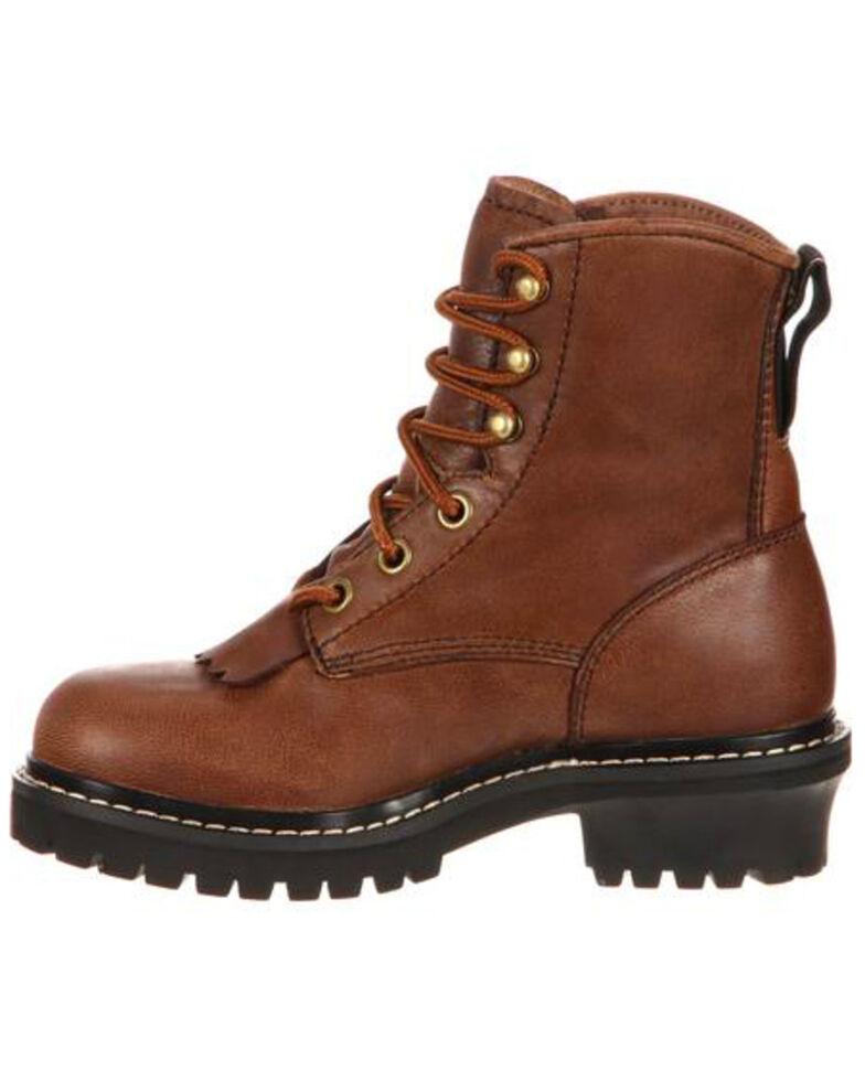 24a3bd4b9c9 Georgia Boot Big Kids Waterproof Logger Boots - Round Toe
