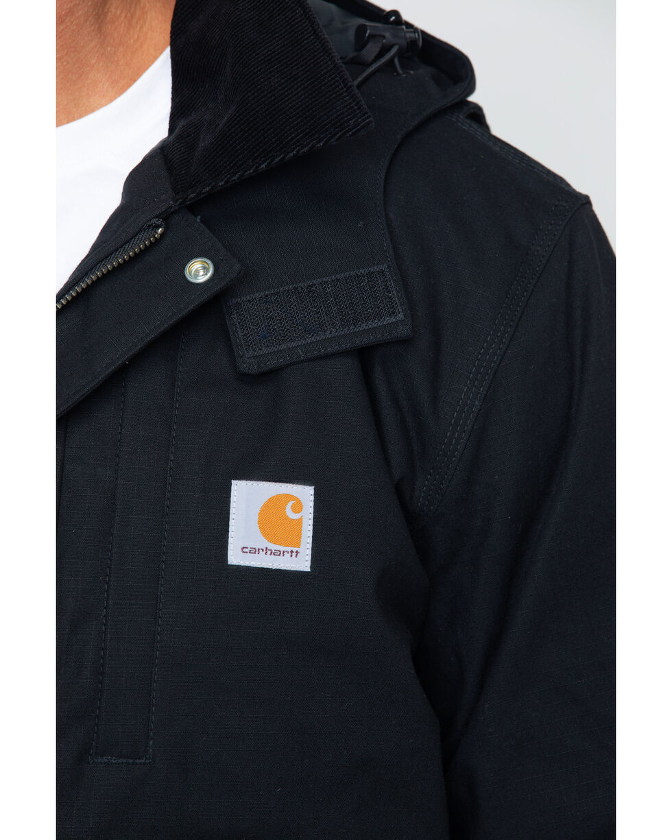 Carhartt Men's Full Swing Steel Jacket, Black, hi-res
