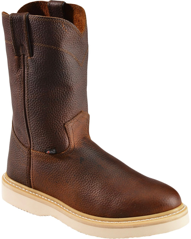 Justin Men's Premium Wedge Work Boots