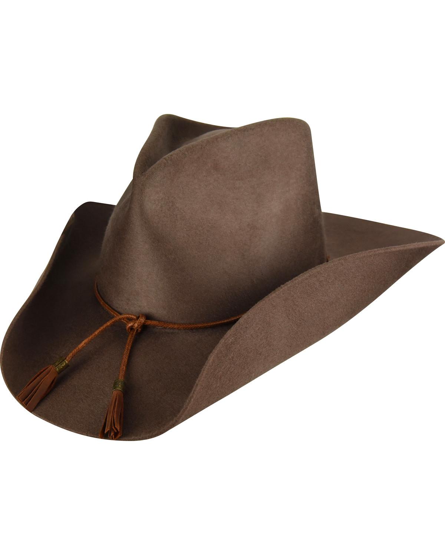 Bailey Men s Brown Lexington Wool Felt Cowboy Hat  2a889564927f