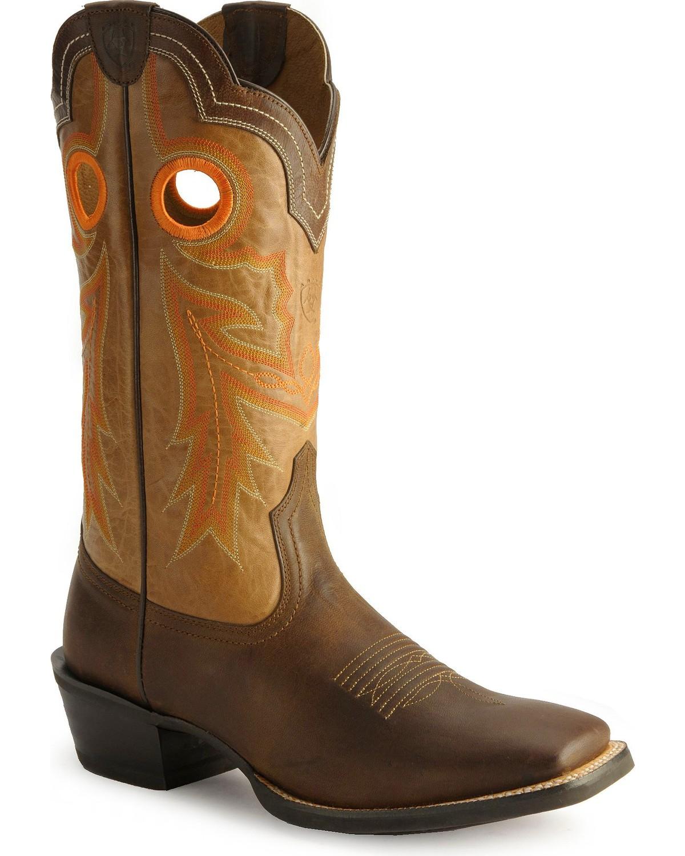 a1b5358c4f8 Ariat Men's Wild Stock Western Boots