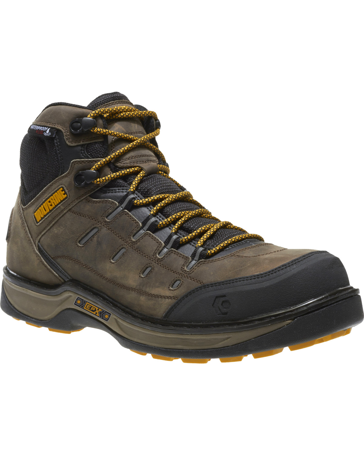 9bc977ce892 Wolverine Men's Edge LX Waterproof Work Boots - Composite Toe
