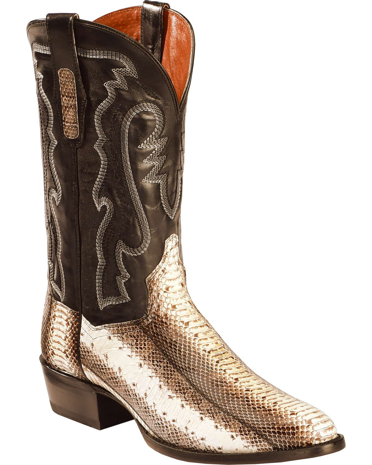 METAL SILVER STAR on TWO-TONE BROWN WESTERN COWGIRL BOOTS fits American Girl