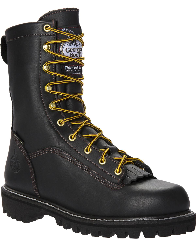 Georgia Men S Gore Tex Insulated Work Boots Boot Barn