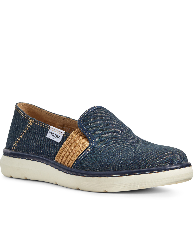 Ariat Women's Ryder Slip-On Denim Shoes