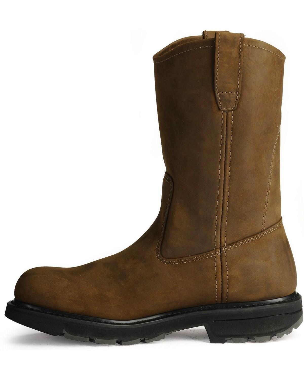 wolverine un hommes est un wolverine orteil antidérapant bottes wellington boot barn 5a8df7