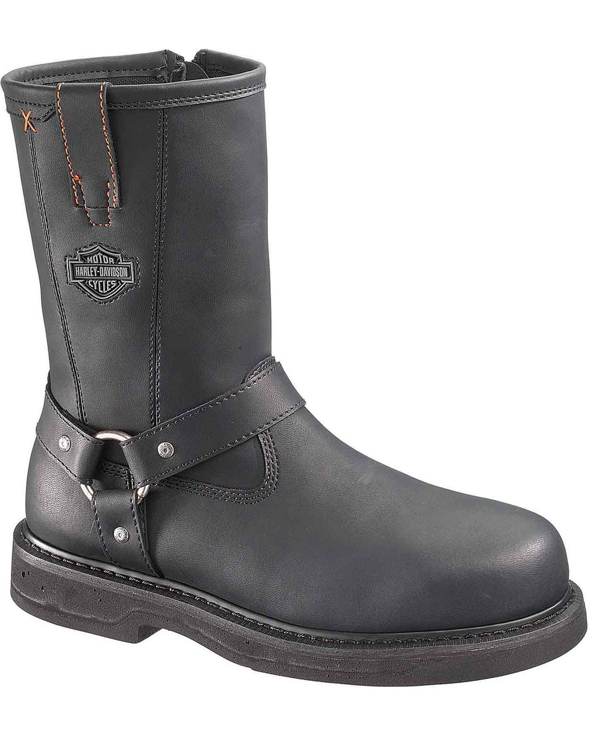 67620792dc8c58 Harley-Davidson Men s Bill Steel Toe Motorcycle Boots