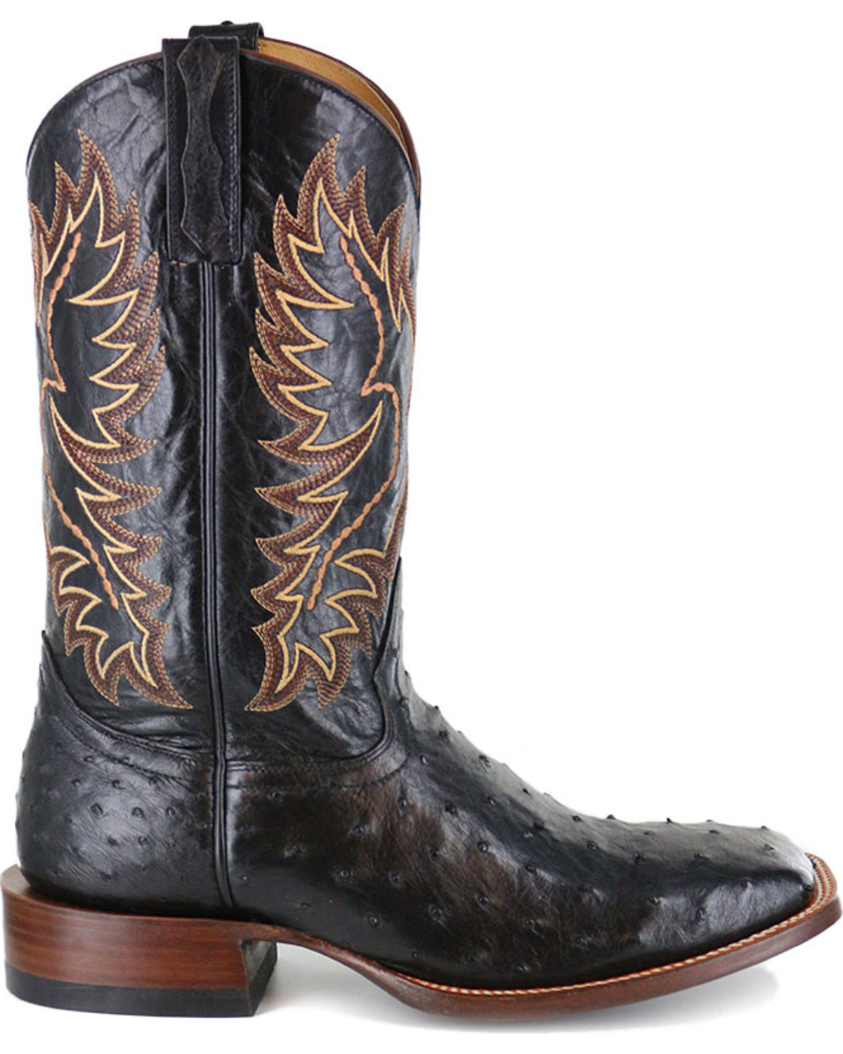 ce0c57048bc Cody James® Men s Full Quill Ostrich Exotic Boots