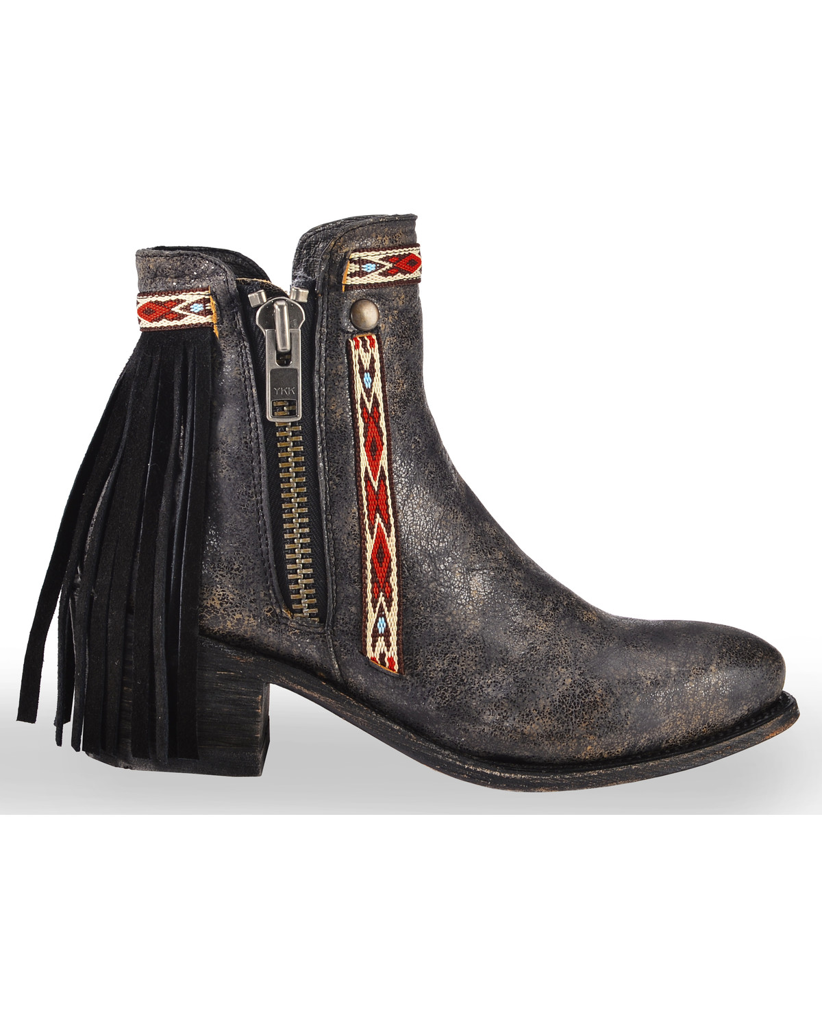 191b91a0844 Corral Women s Fringe Ankle Booties