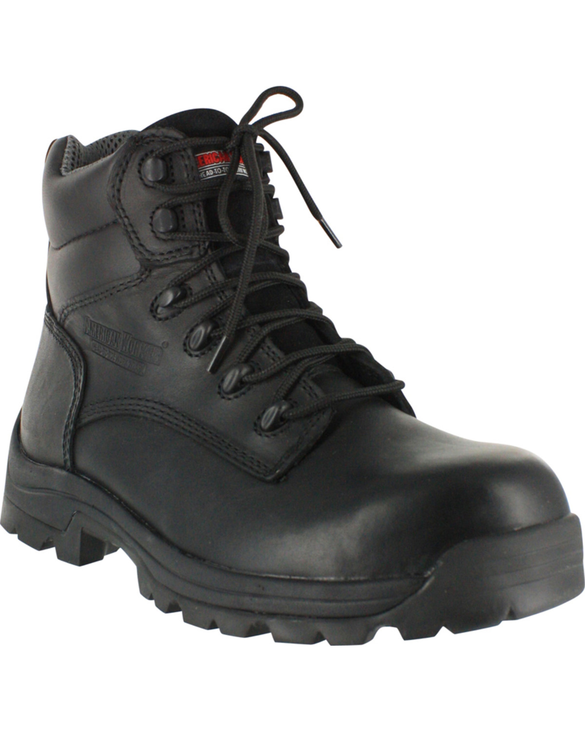 fa096477509 American Worker® Men's Stealth Composite Toe Work Boots