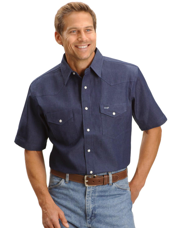Cowboy Cut Short Sleeve Shirt