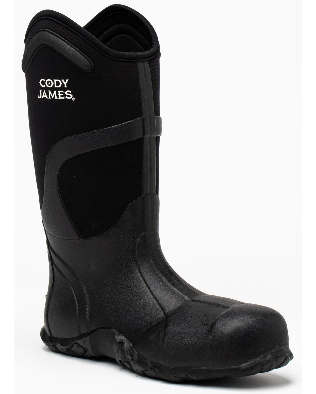 Cody James Men's Rubber Work Boots