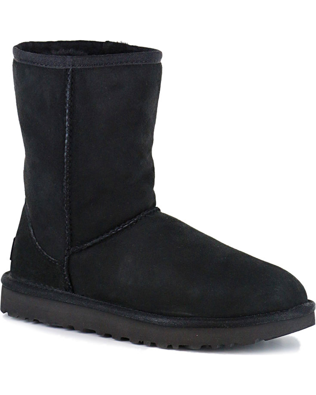 e39fa5ef5cf UGG Women's Black Classic II Short Boots