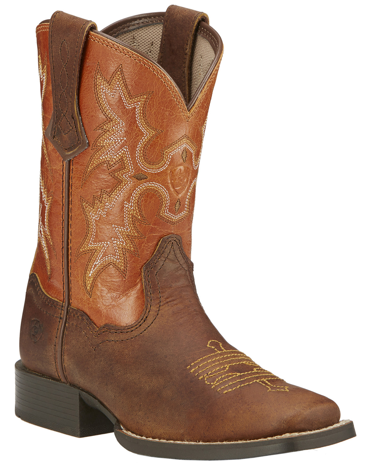 744b7fe9f01 Ariat Kid's Tombstone Square Toe Western Boots