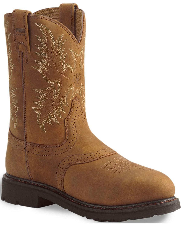 b4dcb4693ff Ariat Men s Sierra Saddle Work Boots