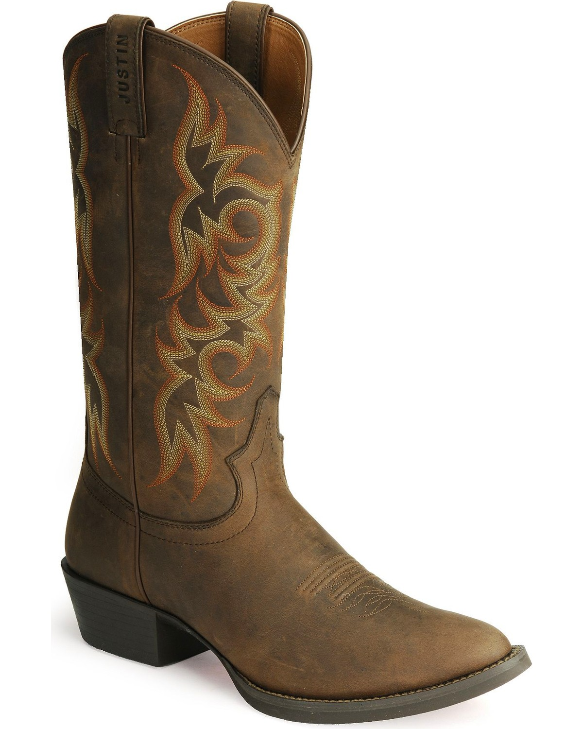 Justin Men s Stampede Western Boots  e354fc5be0f