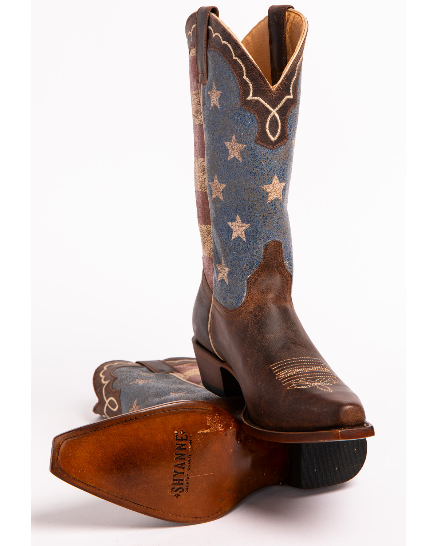 Shyanne 174 Women S American Flag Snip Toe Boots Boot Barn