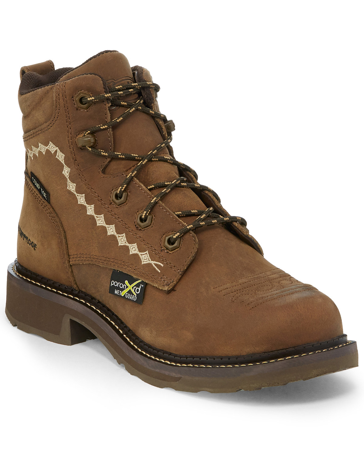 9d30871edf6 Justin Women's Lanie Waterproof Work Boots - Composite Toe
