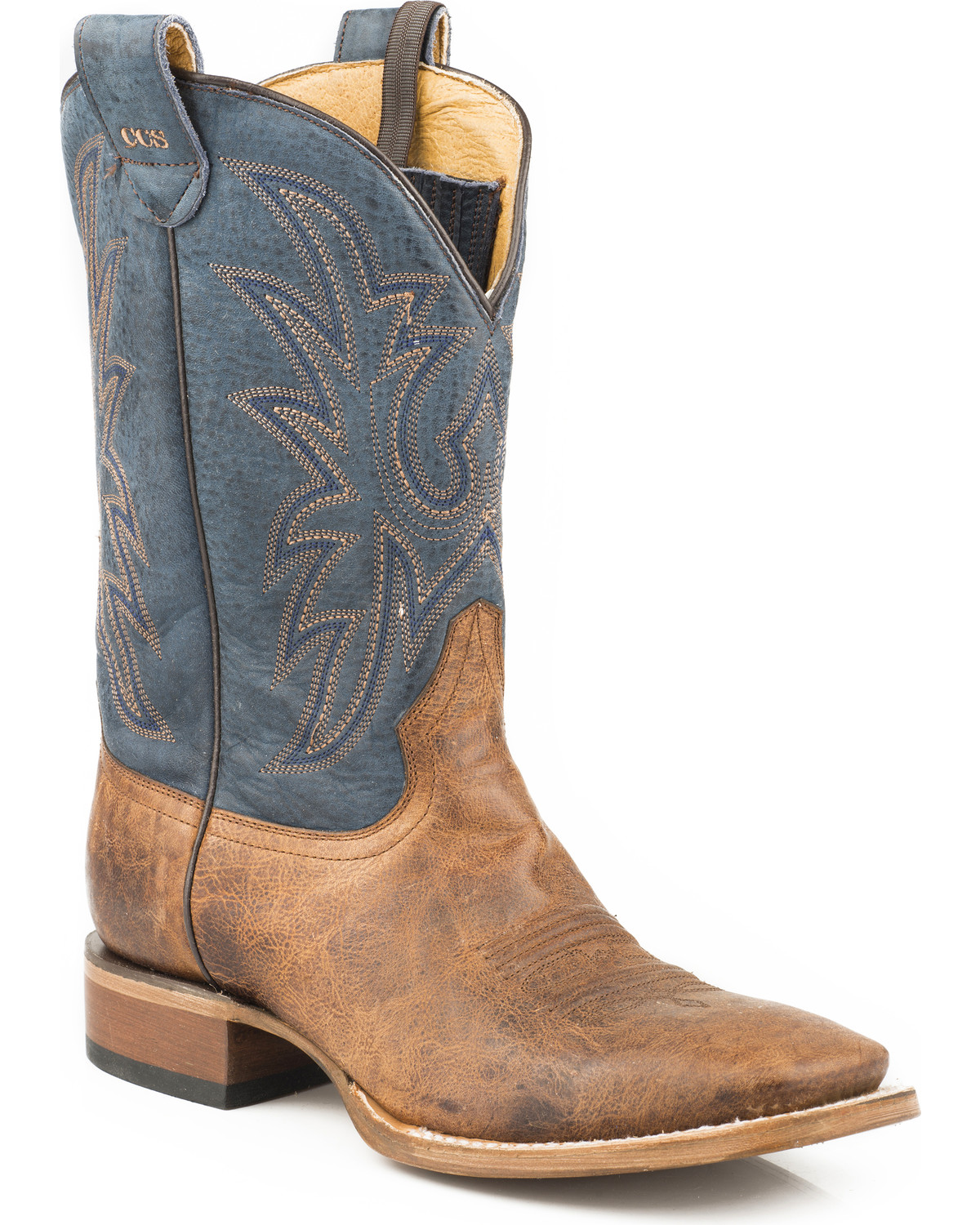 ea1a9a0d2e3 Roper Men's Sidewinder Concealed Carry System Cowboy Boots - Wide Square Toe
