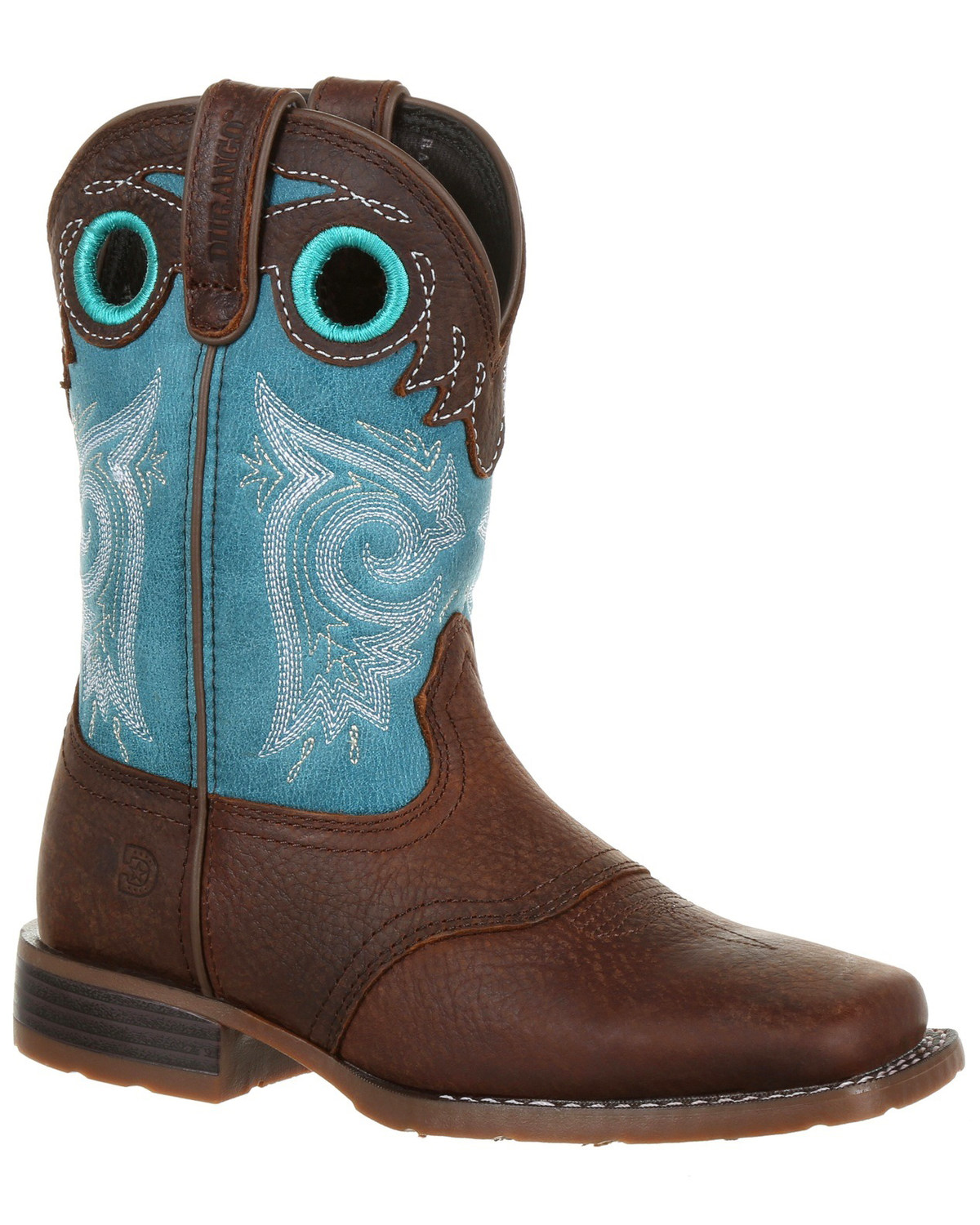 6fe2de9b6326 Durango Boys  Lil  Mustang Western Saddle Boots - Wide Square Toe ...