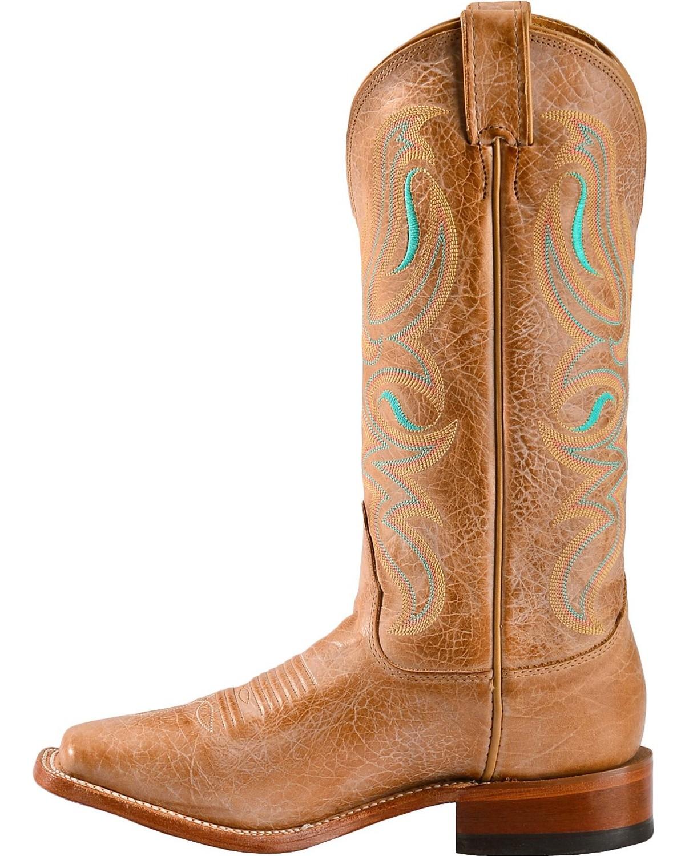 Nocona Women s Honey Square Toe Western Boots  7d79f64149