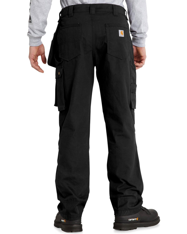 1645288f1f Zoomed Image Carhartt Men's Lumberport Ripstop Pants, Black, ...