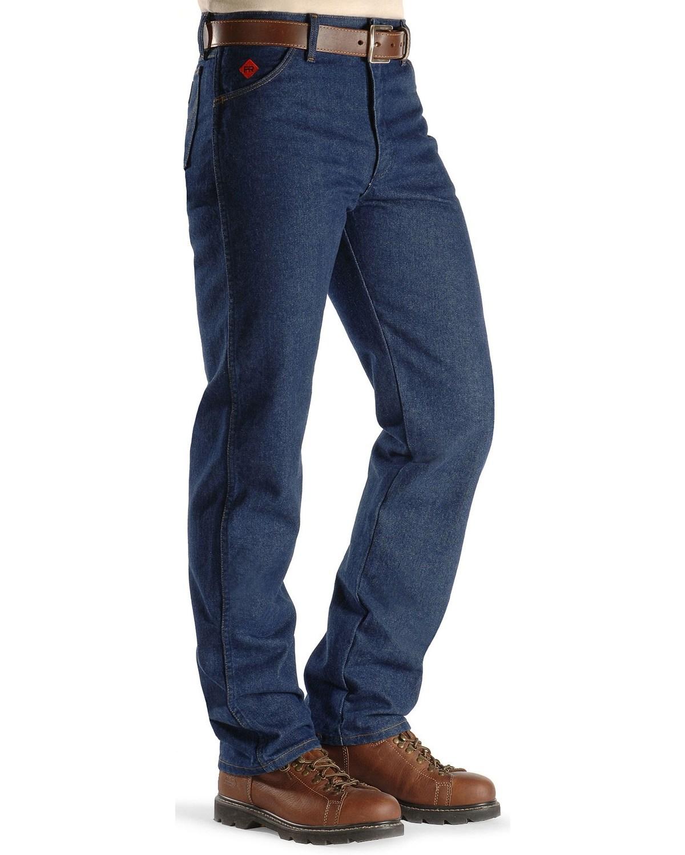 2adab74e0e62 Wrangler Men s Flame Resistant Original Fit Jeans