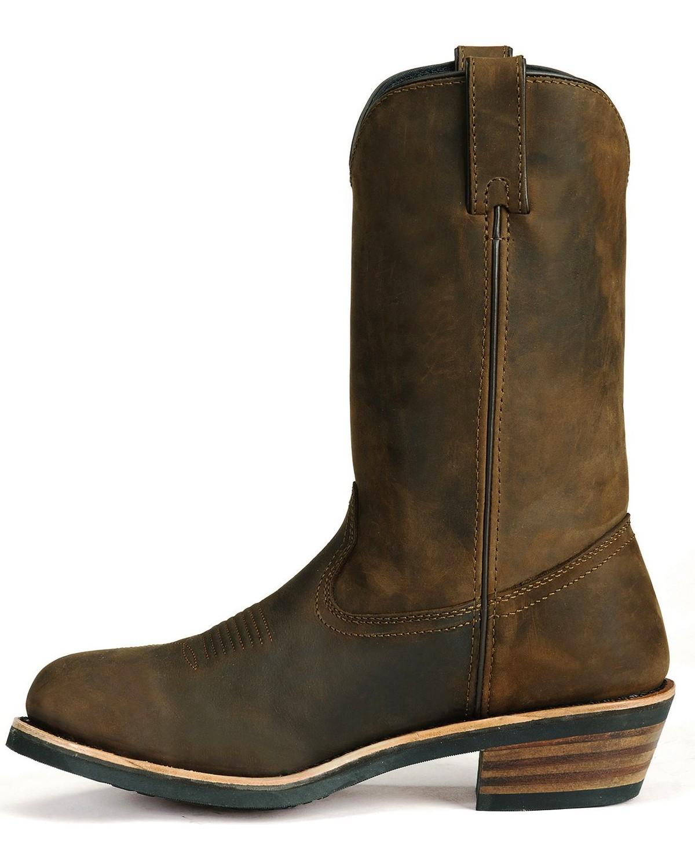 Dan Post Albuquerque Waterproof Distressed Leather Western