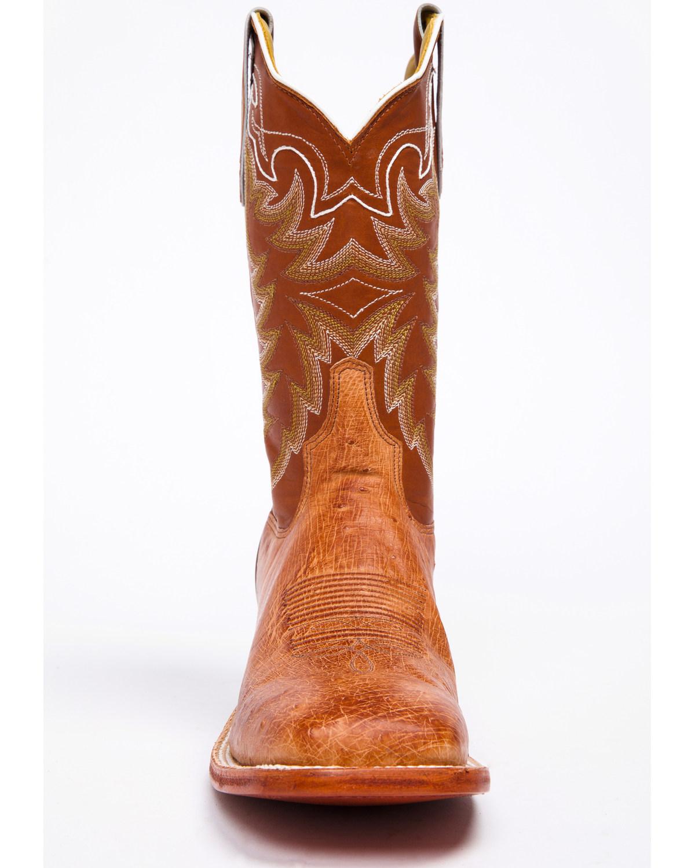 Tony Lama San Saba Vintage Smooth Quill Ostrich Cowboy