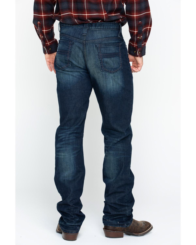 6cbe7143 Zoomed Image Cinch Men's White Label Mid Rise Performance Denim - Straight  Leg, Indigo, hi-