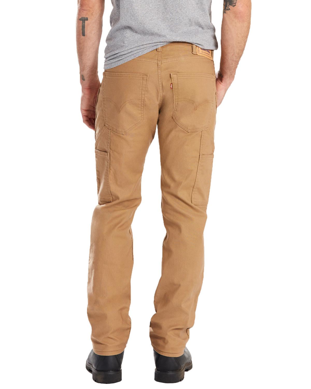 f34996d8a78 Zoomed Image Levis Men's 505 Canvas Regular Straight Utility Work Pants ,  Beige/khaki, hi-